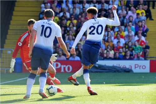 Tottenham Hotspur. (Foto: OLLY GREENWOOD / AFP)