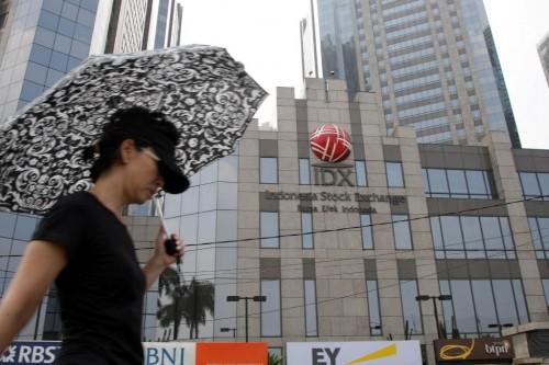 Ilustrasi gedung BEI. (FOTO: MI/Panca Syurkani)