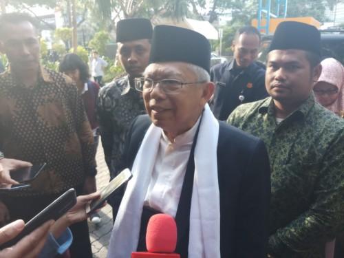 Calon Wakil Presien Ma'ruf Amin. Foto: Medcom.id/M Sholahadhin