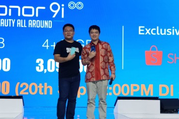Honor 9i Resmi Masuk Indonesia, Harganya?