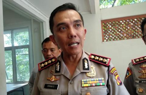 Kepala Polrestabes Bandung Kombes Pol Irman Sugema di Markas
