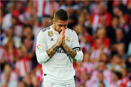 Sergio Ramos. (Foto: LLUIS GENE / AFP)