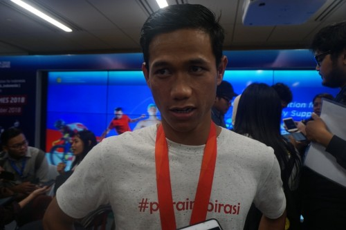 Jendi Pangabean, atlet difabel andalan Indonesia di cabor renang