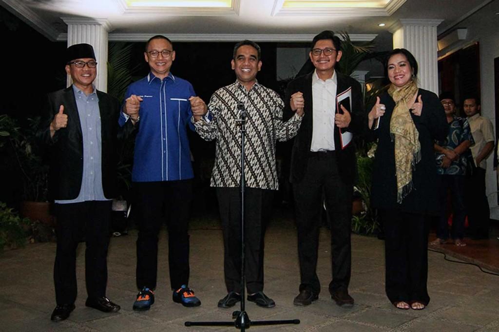 Kubu Prabowo-Sandi Tetapkan Nama Koalisi Indonesia Adil dan Makmur