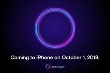 Opera Touch Sambangi iPhone per 1 Oktober