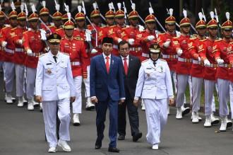 Jokowi Lantik Gubernur NTB Terpilih di Istana