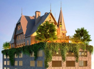 Hotel Mewah Beratap Rumah Megah