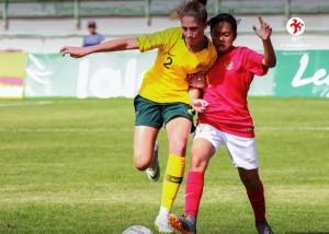 Timnas Putri U-16 Kalah Telak dari Australia