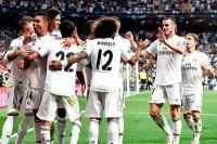Real Madrid Lumat Roma di Santiago Bernabeu