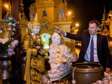 Menlu Inggris Kunjungi Rakhine Utara