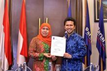 Khofifah, Emil Dardak, dan Risma Kawal Suara Jokowi-Ma'ruf