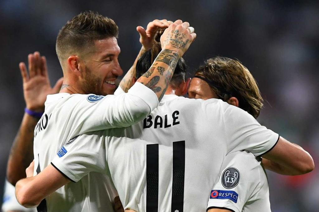 Madrid Lumat Roma 3-0