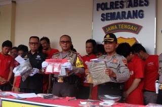 Polisi di Semarang Diminta Tembak Pelaku Pengedar Narkoba