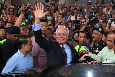 Najib Razak Bebas Dengan Jaminan Rp12,5 M