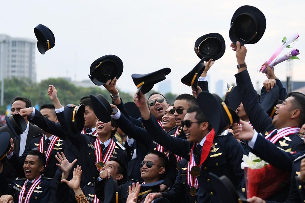 Pelantikan Terpadu Perwira Transportasi Indonesia 2018