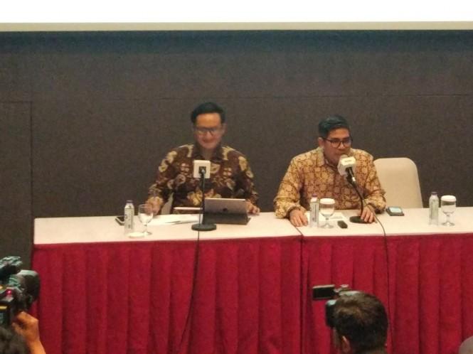 Direktur Utama Mahaka Media Adrian Syarkawi (kanan). Foto: Medcom.id/Annisa Ayu Artanti.