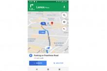 Google Maps Tampilkan Saran Parkir Saat Transit