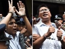 Sekjen PBB Minta Myanmar Bebaskan Dua Wartawan Reuters