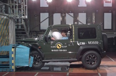 Hasil Uji Tabrak Suzuki Jimny Tak Semenarik Tampilannya