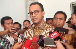 Anies Persilakan Pemasangan Spanduk Tolak Wagub dari PKS