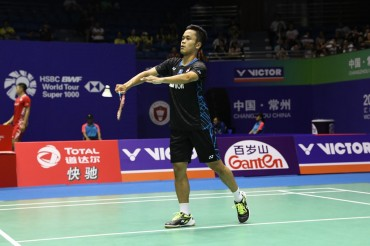 Akankah Anthony Ginting Mempermalukan Chen Long?