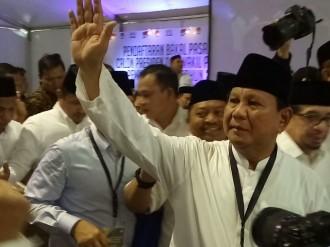 Prabowo tak Pedulikan Nomor Urut