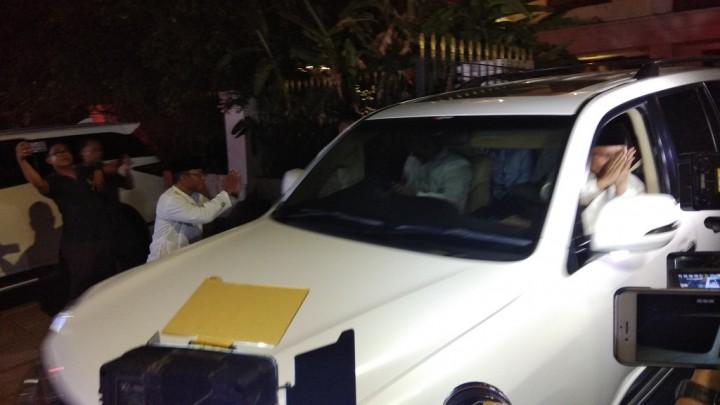 Prabowo-Sandi Meluncur ke KPU