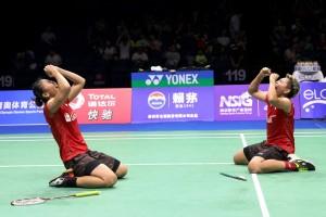Greysia Polii/Apriyani Rahayu Juga ke Semifinal China Open 2018