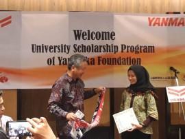 Yamaoka Scholarship Foundation Beri Beasiswa