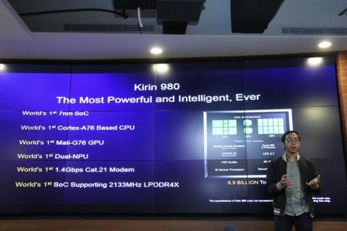 Huawei mengklaim Kirin 980 lebih unggul dari Qualcomm Snapdragon