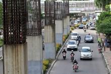 11 Tahun Tiang Pemancang Monorail Mangkrak