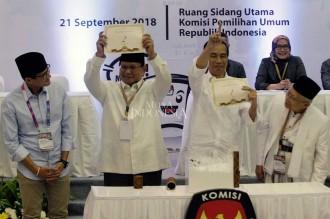 Jokowi-Ma'ruf Nomor Urut 1, Prabowo-Sandi 2
