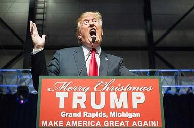 Presiden AS Donald Trump. (Foto: AFP)