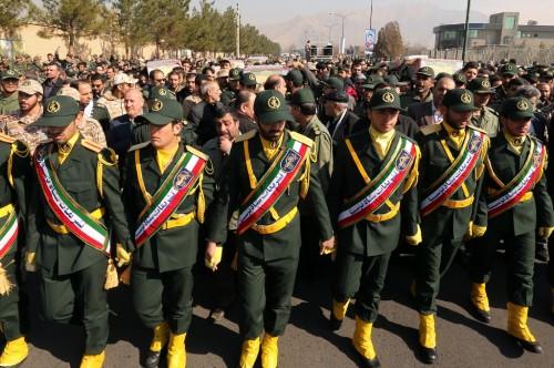 Garda Revolusioner Iran. (Foto: AFP)