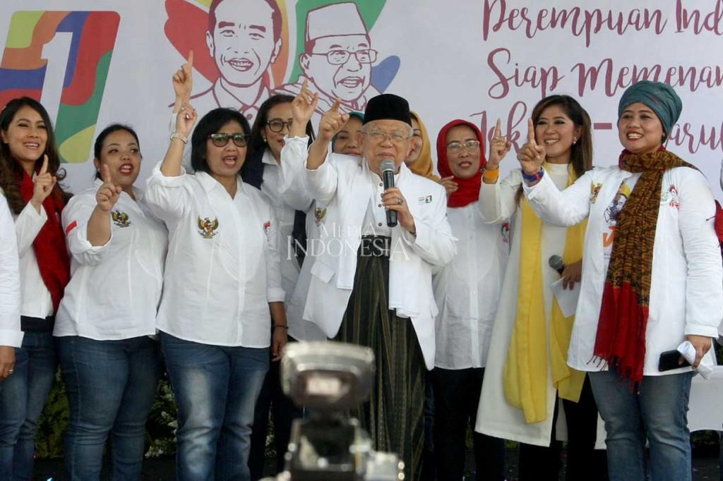 Relawan Perempuan Deklarasi Dukungan untuk Jokowi-Ma'ruf