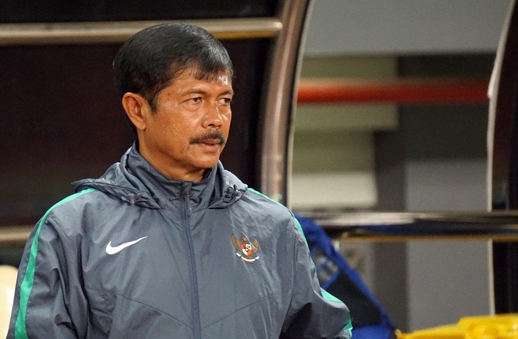 Indra Sjafrie selaku pelatih timnas U-19. (Foto: Kautsar/Medcom.id)