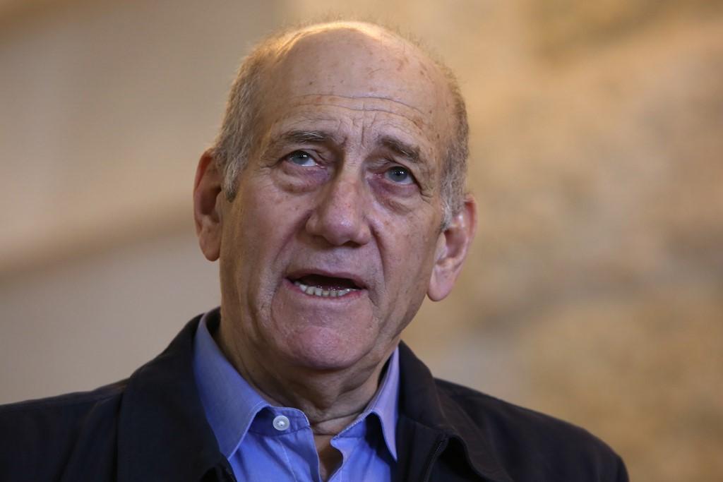 Mantan PM Israel Ehud Olmert. (Foto: AFP).