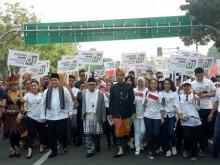 2 Paslon Pilpres 2019 Mengikuti Karnaval Kampanye Damai