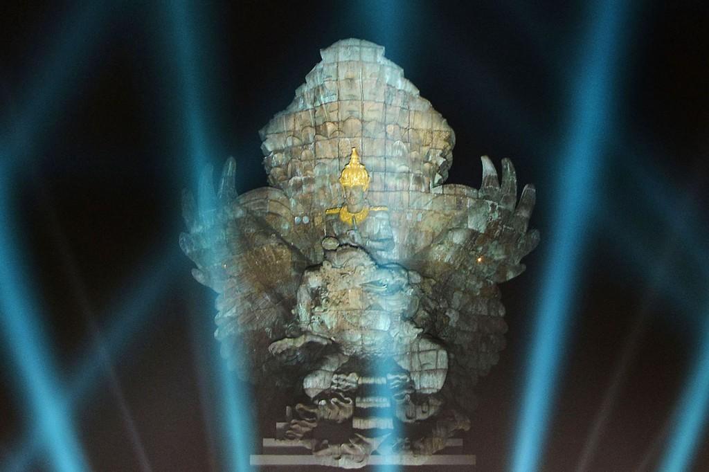 Peresmian Patung Garuda Wisnu Kencana, Ikon Baru Budaya Indonesia