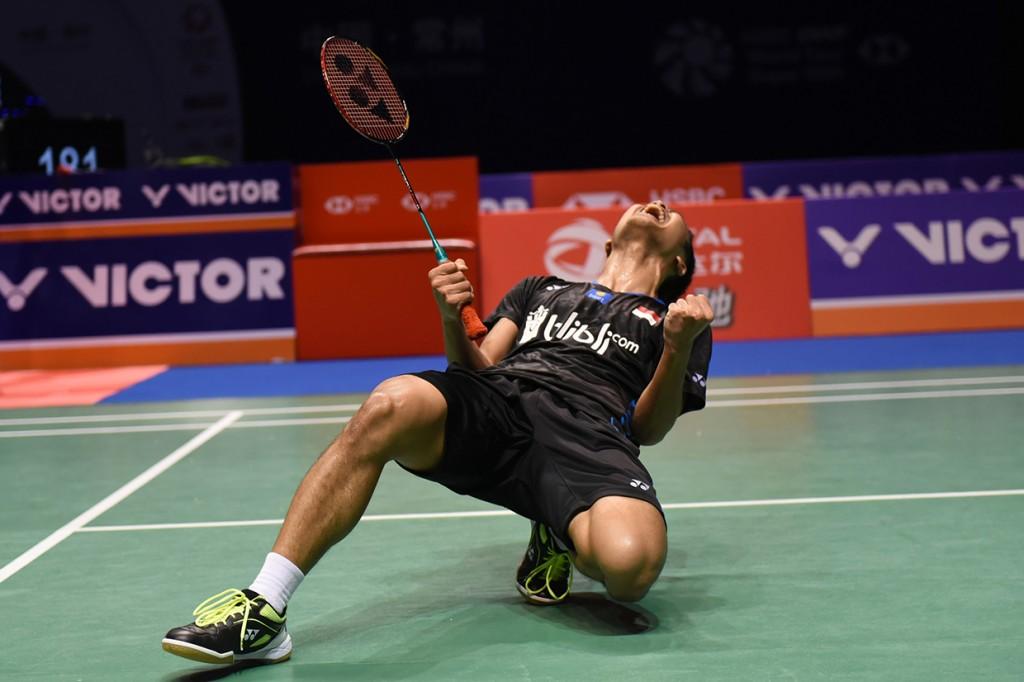 Anthony Ginting Sabet Juara China Open 2018