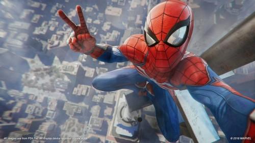 Spider-Man di game terbaru. (Sony)