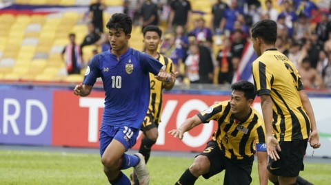Piala Asia U-16: Thailand Permalukan 10 Pemain Malaysia