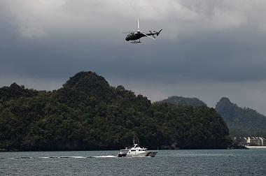 Patroli Angkatan Laut Malaysia. (Foto: AFP)