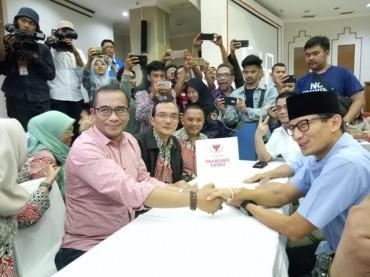 Dana Awal Kampanye Prabowo-Sandi Rp2 Miliar