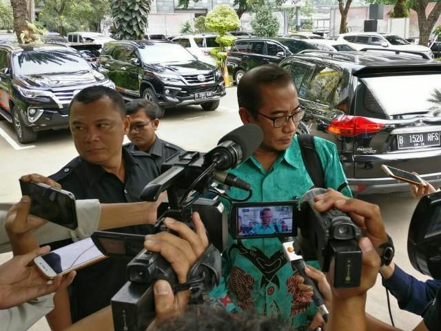 Komisioner Komisi Pemilihan Umum (KPU) Hasyim Asy'ari--Medcom.id/Arga Sumantri.
