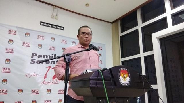Komisioner KPU RI Hasyim Asy'ari. Foto: Fachri Audhia Hafiez/Medcom.id
