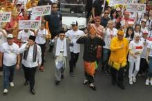 Relawan Galang Kemajuan Sultra Kampanyekan Keberhasilan Jokowi
