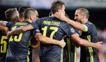 Ronaldo Kembali Sumbang Gol, Juventus Raih Lima Kemenangan Beruntun