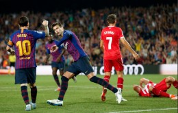 Gol Pique Selamatkan Barcelona dari Kekalahan atas Girona
