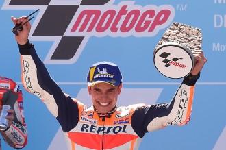 Marc Marquez Juara MotoGP Aragon